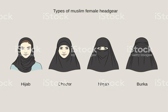 hijab chador niqab burka