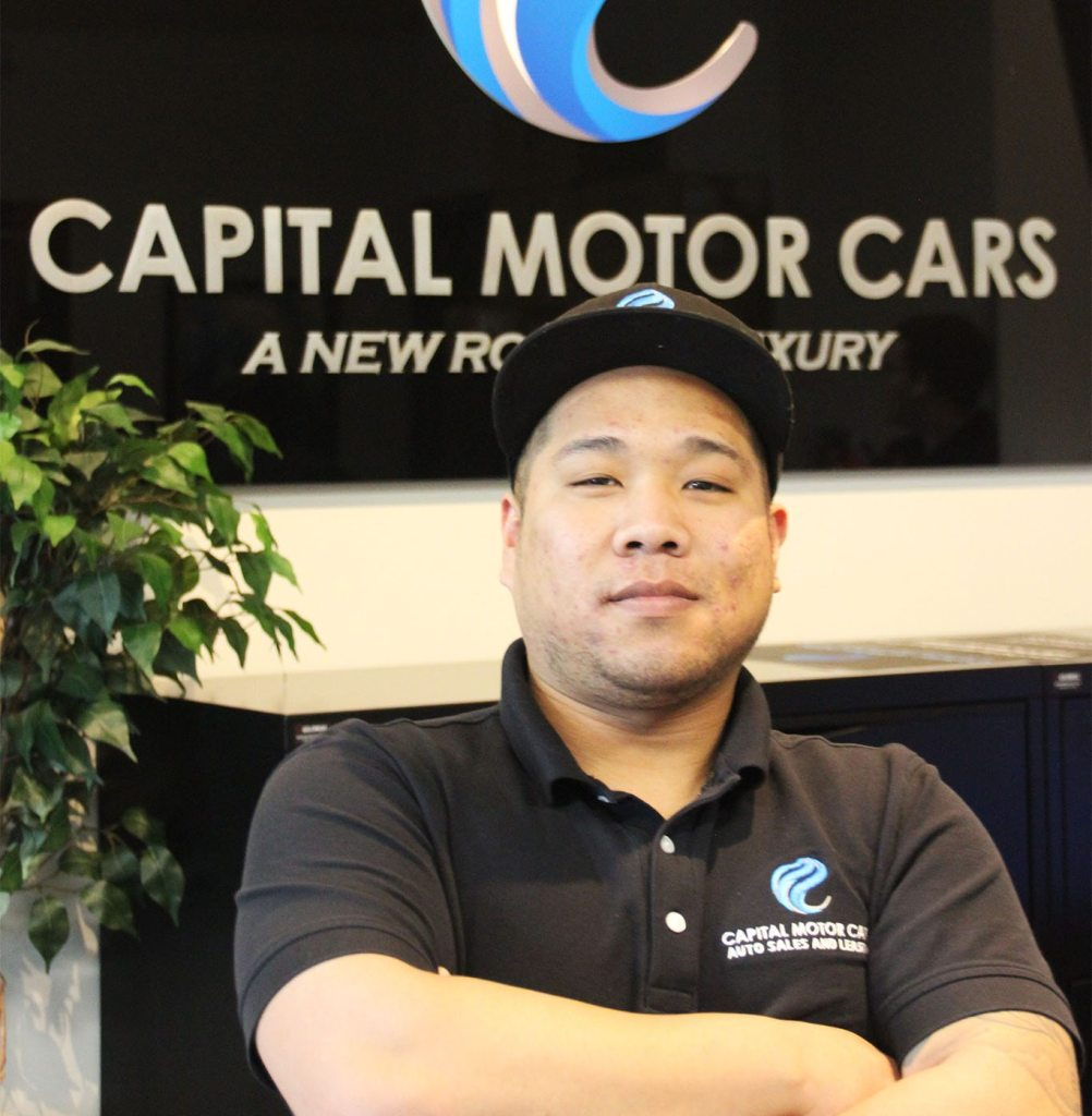 Headshot of James Dai from Capital Motor Cars
