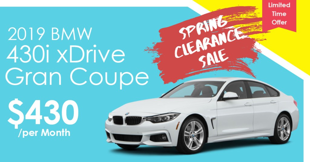 2019 BMW 4 Series Lease