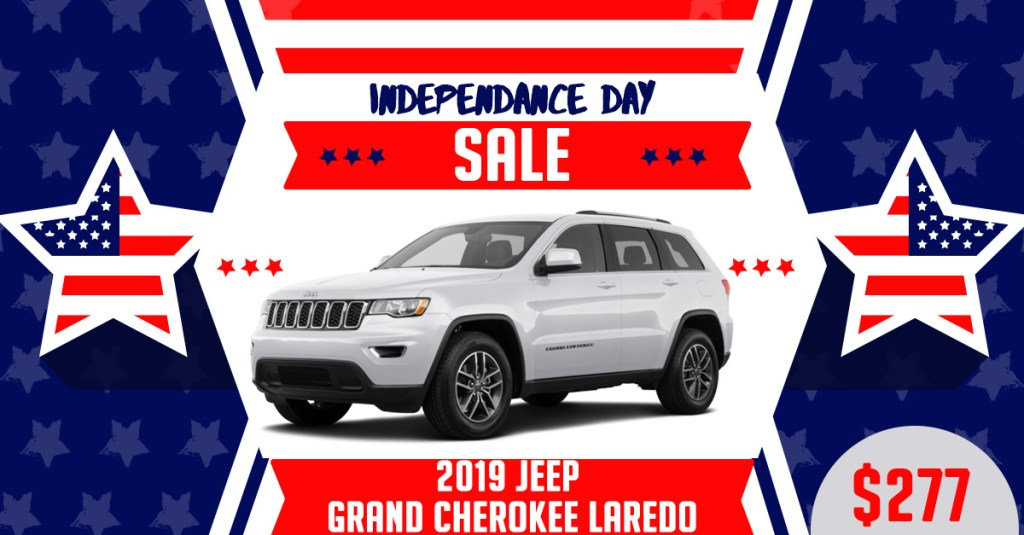 2019 Jeep GC Fourth of July Lease Deals