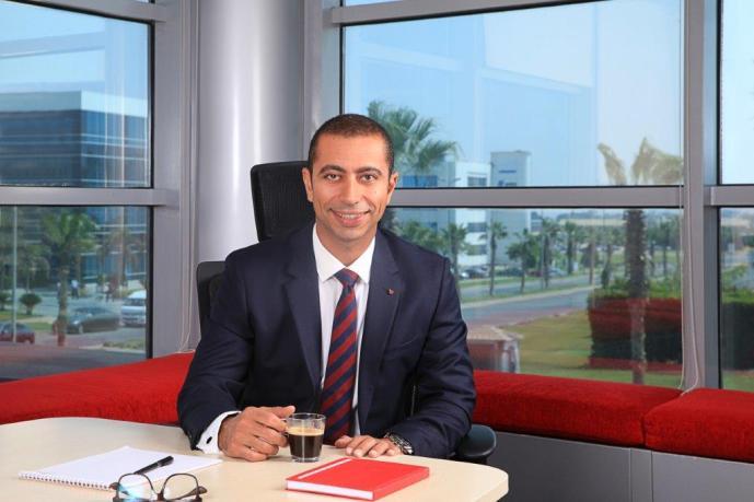 محمد عبد الله الرئيس التنفيذي لفودافون مصر