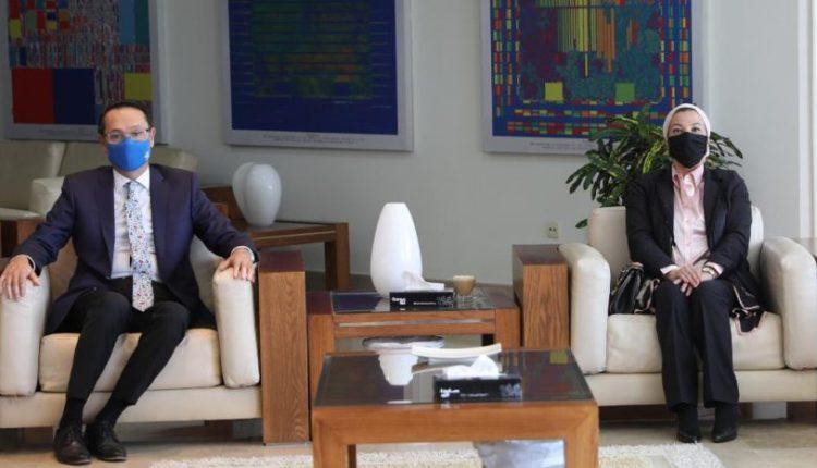 ياسمين فؤاد: إطلاق منصة للمنتجات الصديقة للبيئة بالتعاون مع الجامعة الألمانية بالقاهرة