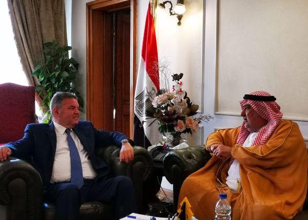 وزير قطاع الأعمال ورئيس الاتحاد العربي للتطوير العقاري يبحثان التعاون المشترك