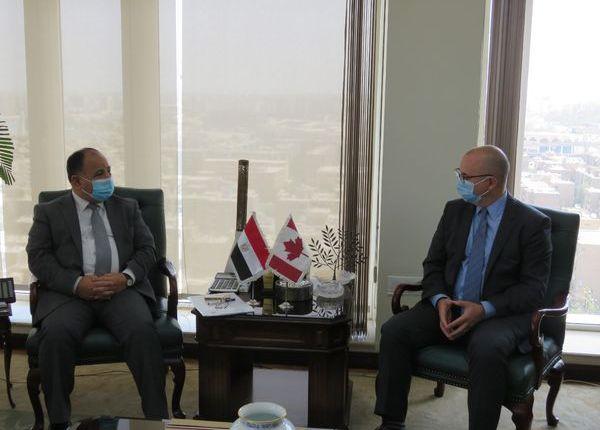 وزير المالية والسفير الكندي يبحثان زيادة الاستثمارات التنموية في مصر