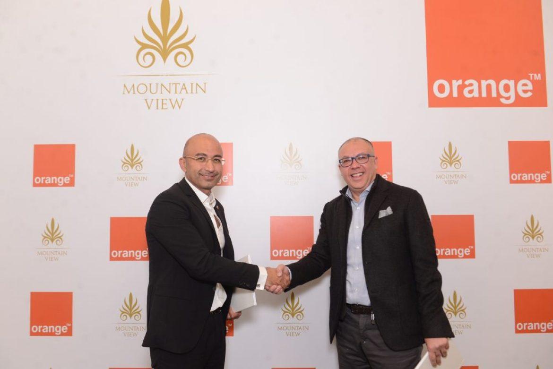 """""""أورنج مصر"""" تقدم خدمات الاتصالات المتكاملة لمشروعات """"ماونتن فيو"""""""