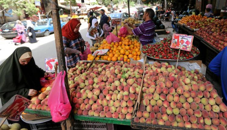 4.9 % إرتفاع في أسعار المستهلكين بمصر نهاية مايو على أساس سنوي