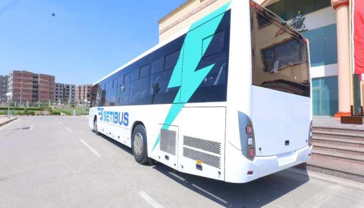 "«SETIBUS» أول أتوبيس كهربائي مصري الصنع بالتعاون مع ""MCV"""