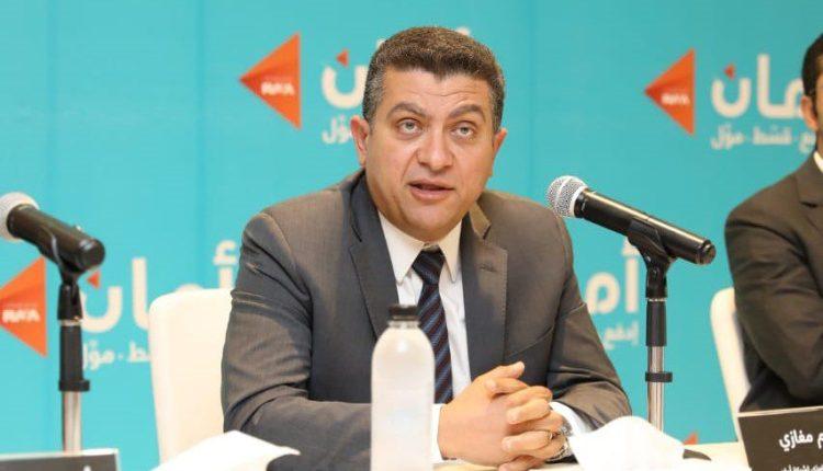 حازم مغازي الرئيس التنفيذي لشركة أمان المالية