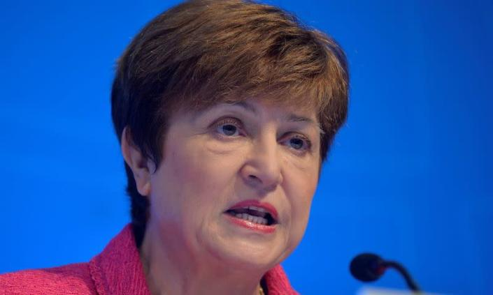 المديرة العامة لصندوق النقد الدولي ، كريستالينا جورجيفا
