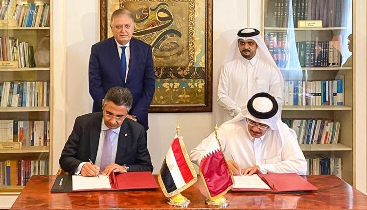 """مصر تبدأ تنفيذ اتفاق """"العلا"""" للمصالحة بتوقيع إتفاقيتي تعاون بريدي مع قطر"""