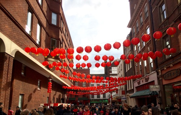 Lanterns of China Town