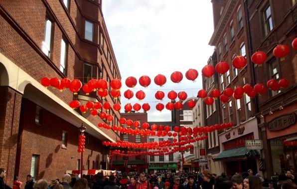 Lanterns of China Town