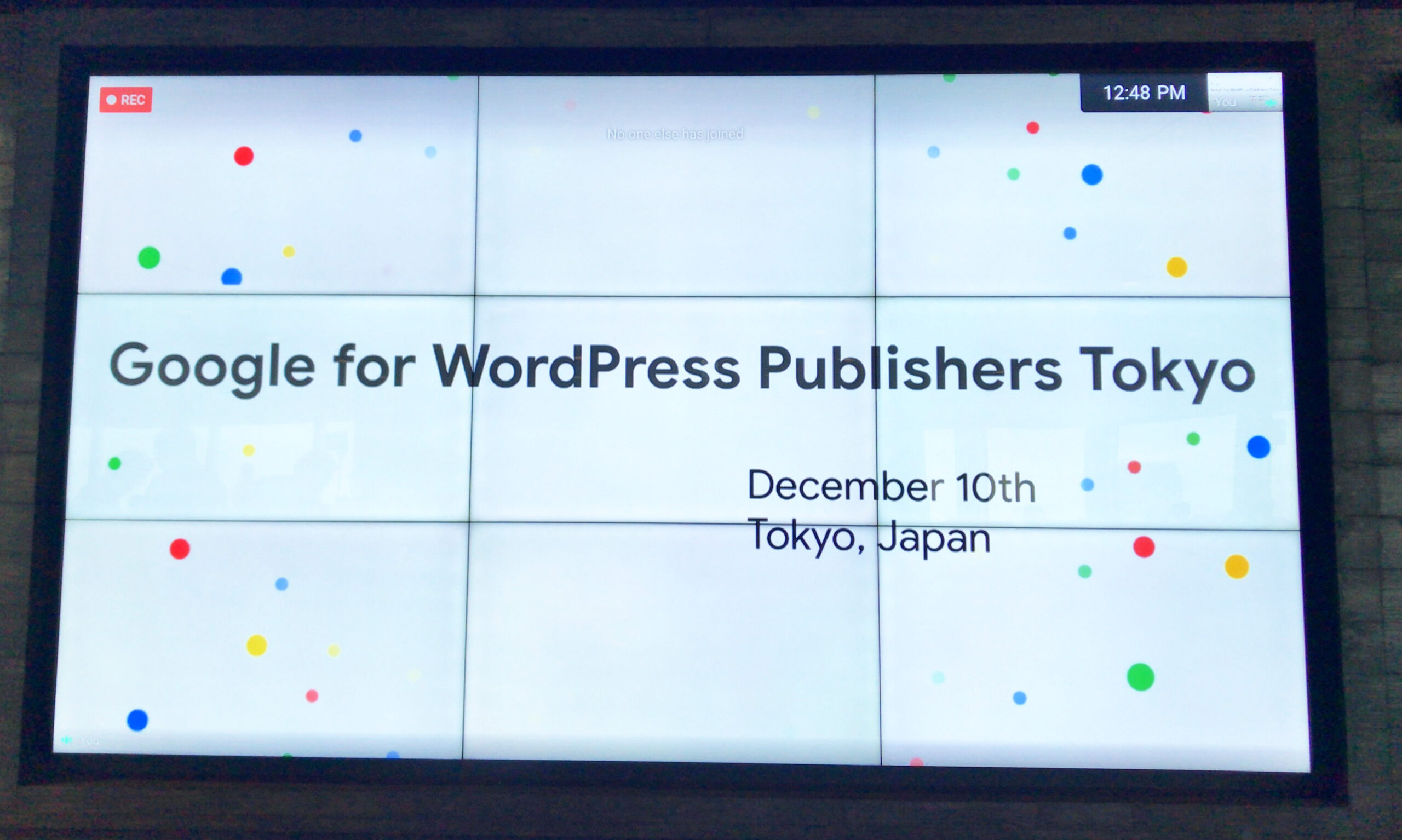 Google for WordPress Publisher Tokyo #GFWP 参加リポート