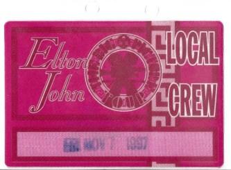 Elton John Concert 1997