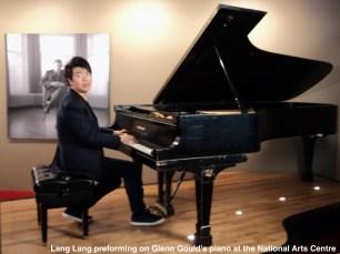 Ottawa piano tuning Lang Lang Glenn Gould's piano