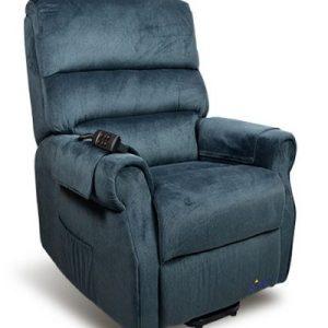 Lift Chair Recliner Mayfair Signature Electric blue
