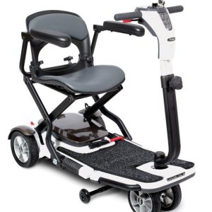 Pride S19 Quest Deluxe Folding Mobility Travel Scooter