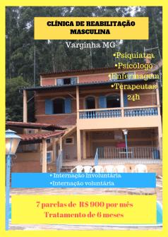 Clínica de recuperação em Minas Gerais - Varginha MG