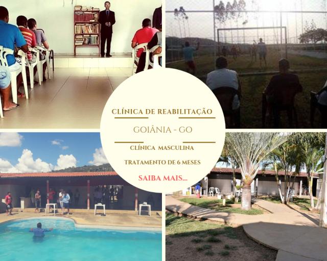 Clínica de reabilitação SP em Goiânia GO
