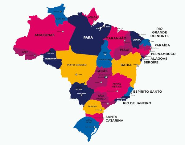 Clínicas de recuperação para dependentes químicos e alcoólatras por estado no Brasil