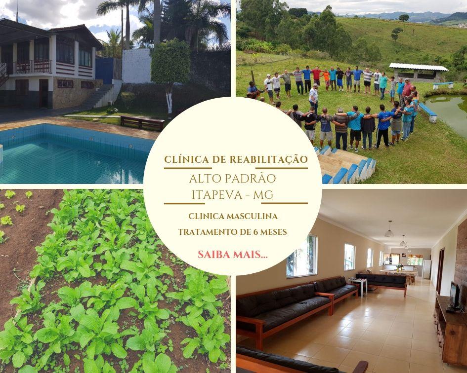 Clínica de reabilitação para dependentes químicos em Minas Gerais