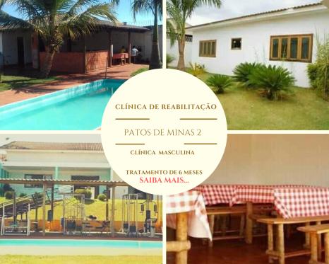 clinica de recuperação e reabilitação para dependentes químicos e alcoólatras em Minas Gerais MG