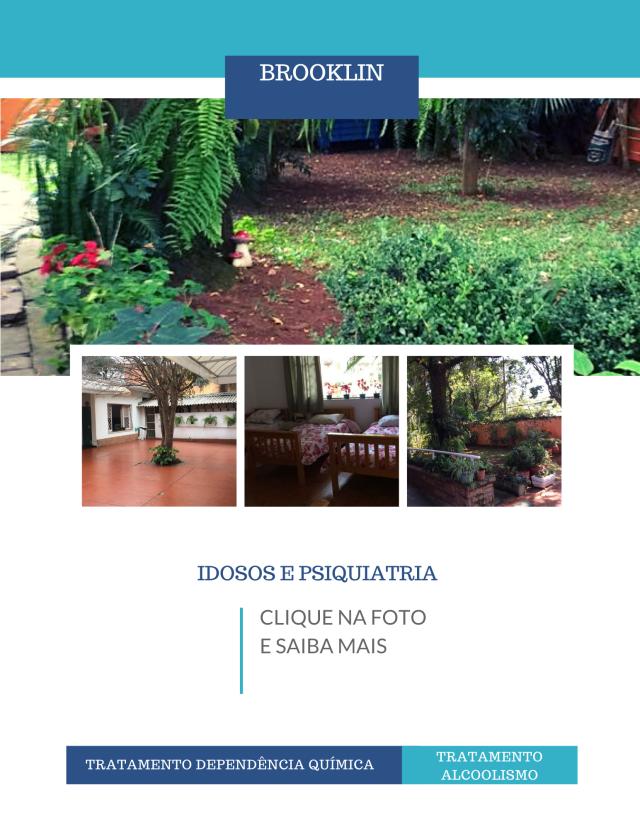 Clínicas de reabilitação em São Paulo - Idosos e Psiquiatria - Brooklin