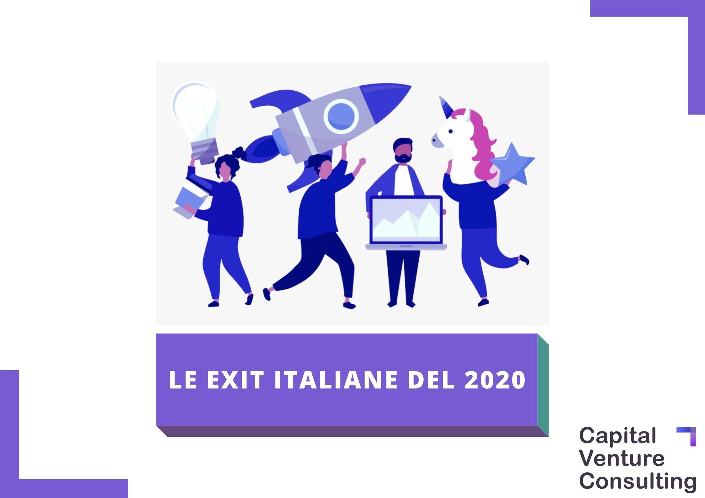 Startup exit italia 2020