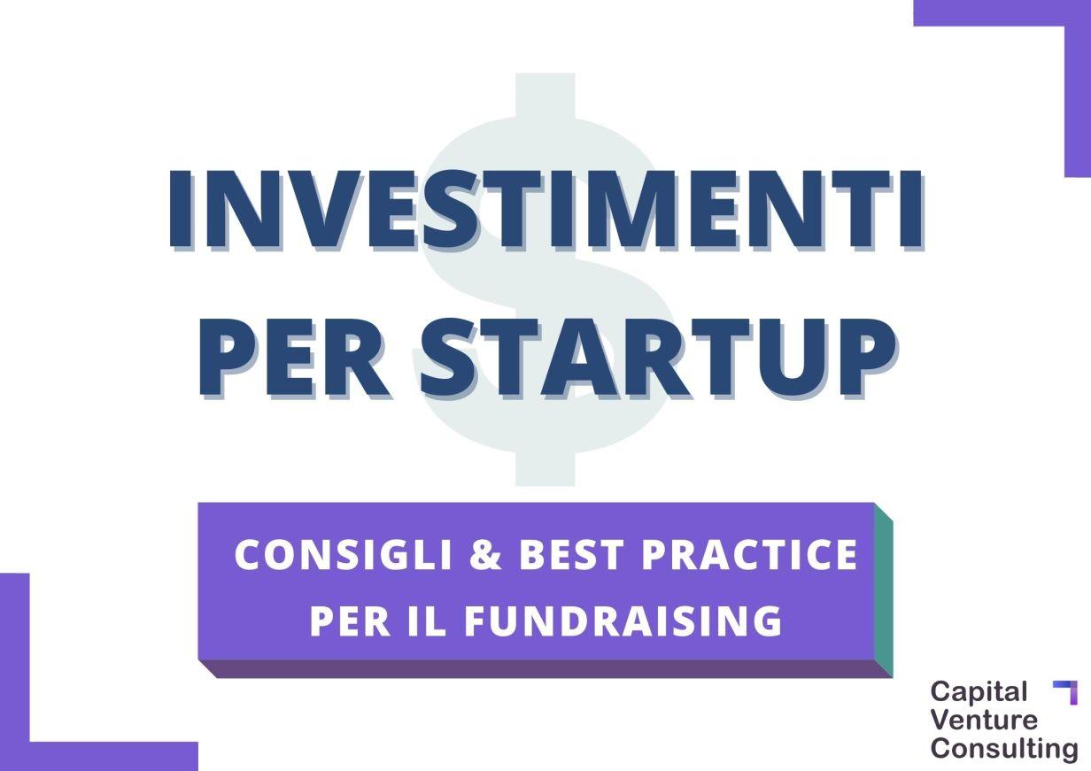 Investimenti per startup