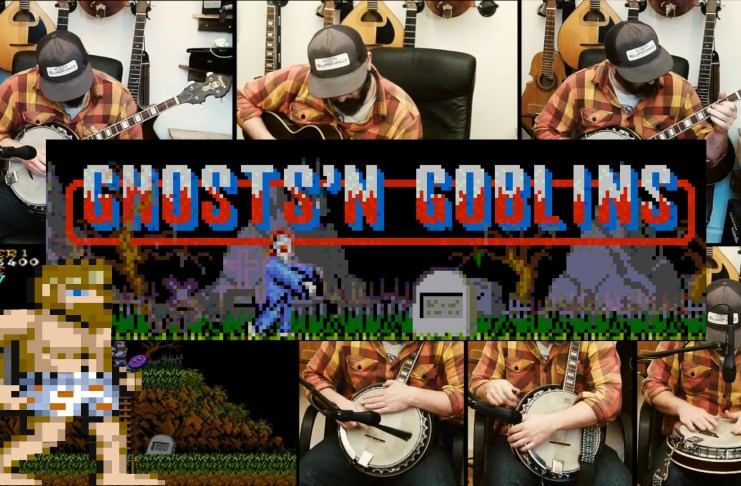 Ghosts 'n Goblins Cover por Banjo Guy Ollie