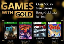 Games with Gold mayo 2016