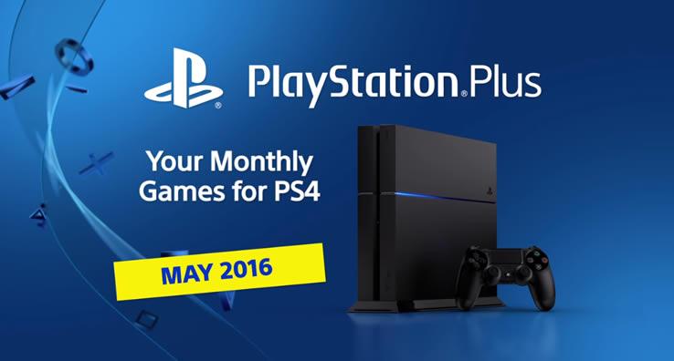 PlayStation Plus Mayo 2016
