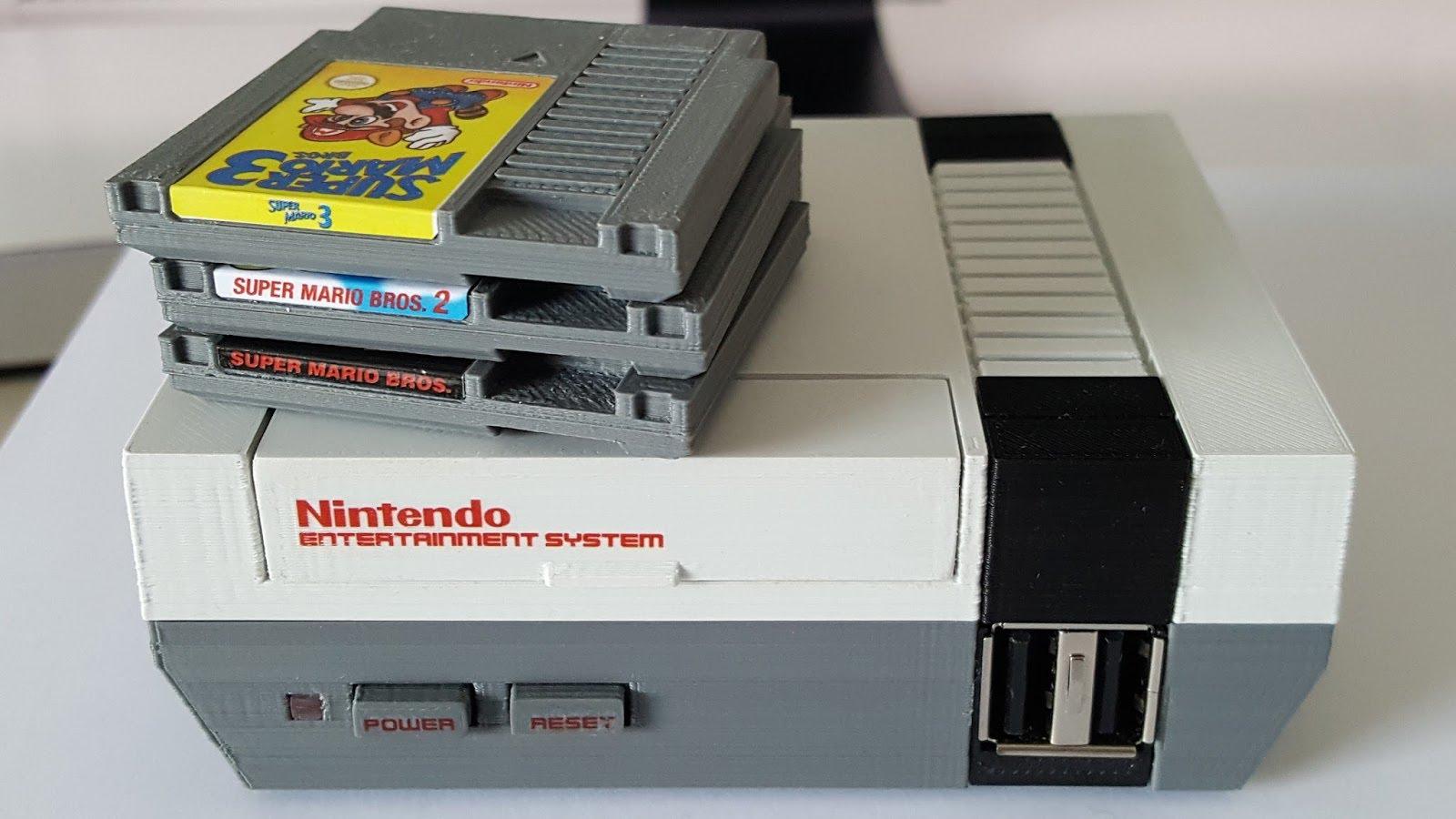 Mini NES Casera creada con Raspberry Pi