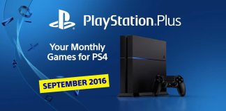 PlayStation Plus setiembre 2016