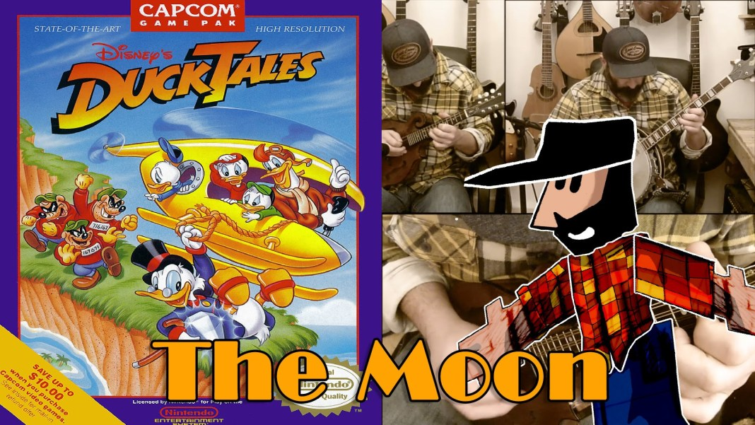 Duck Tales The moon interpretado por Banjo Guy Ollie