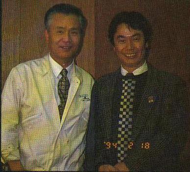 Gunpei Yokoi y Shigueru Miyamoto