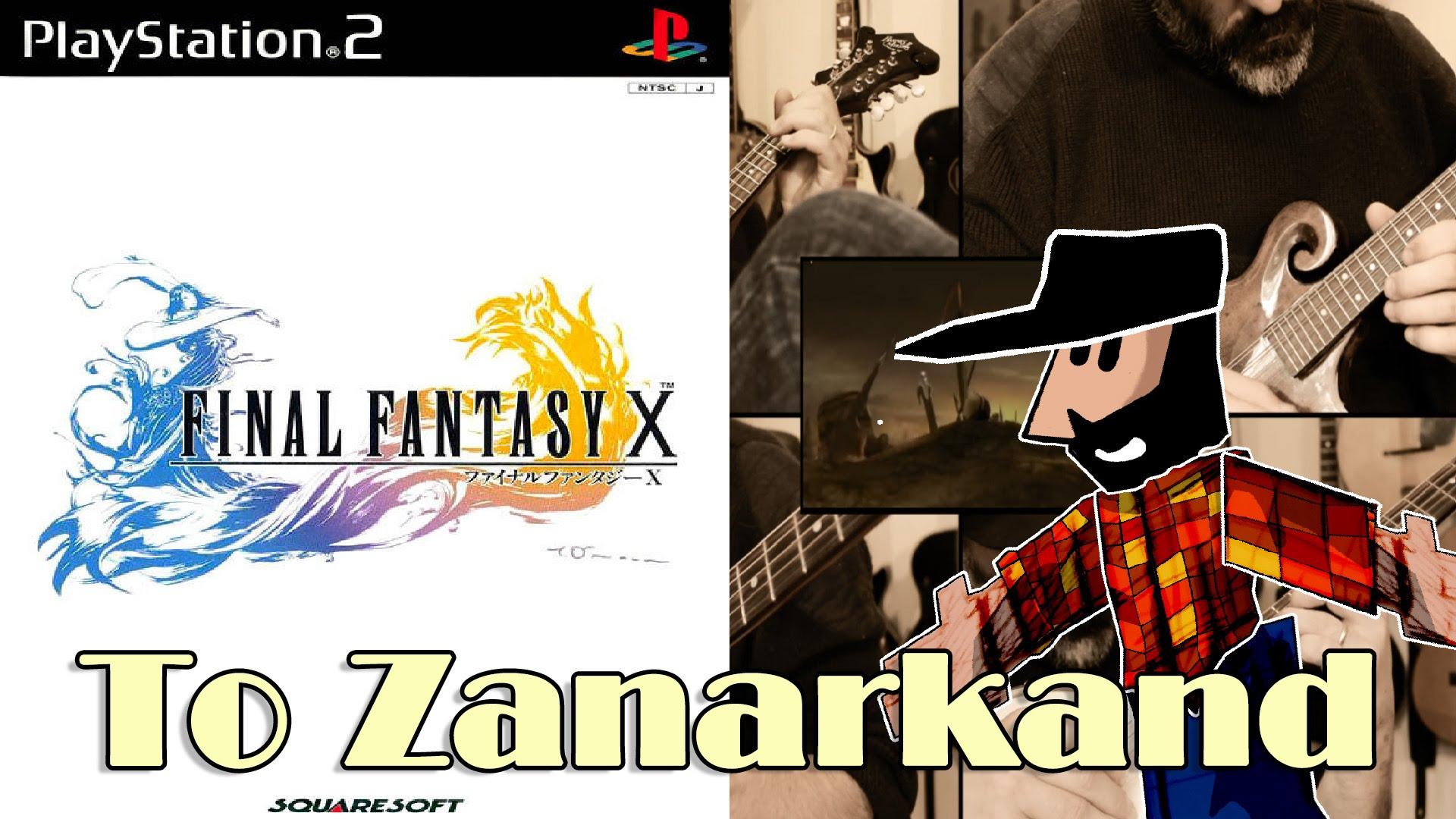 To Zanarkand Final Fantasy X interpretado por Banjo Guy Ollie