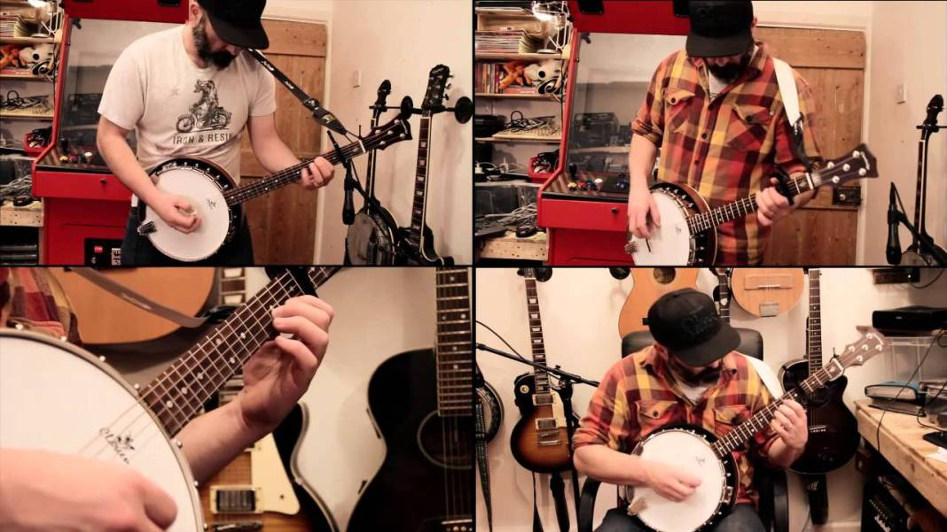 Cover de Enter Sandman interpretado por Banjo Guy Ollie