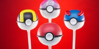 Pokemon Pokeballs Cake Pops