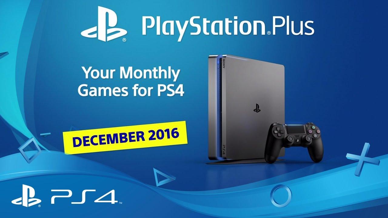 PlayStation Plus de diciembre de 2016