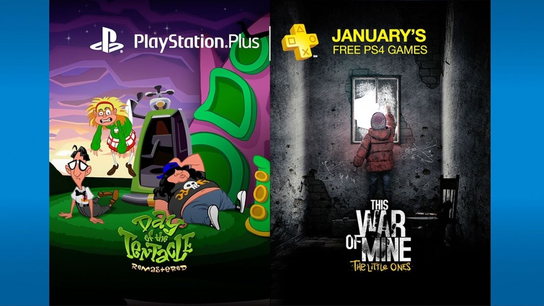 PlayStation Plus de enero de 2017