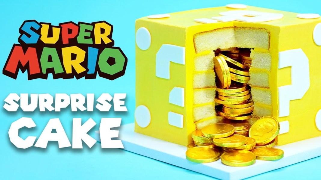 Queque sorpresa del block de pregunta de Mario