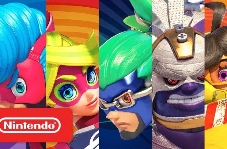 Nintendo presenta dos nuevos videos de Arms