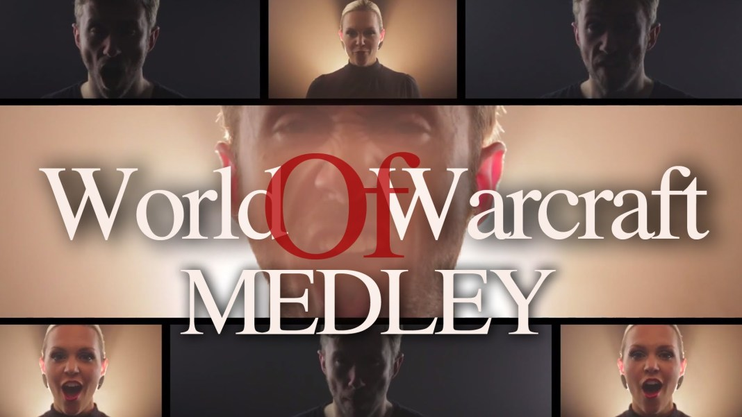 World of Warcraft Medley acapella por Peter Hollens presentando a Evynne Hollens