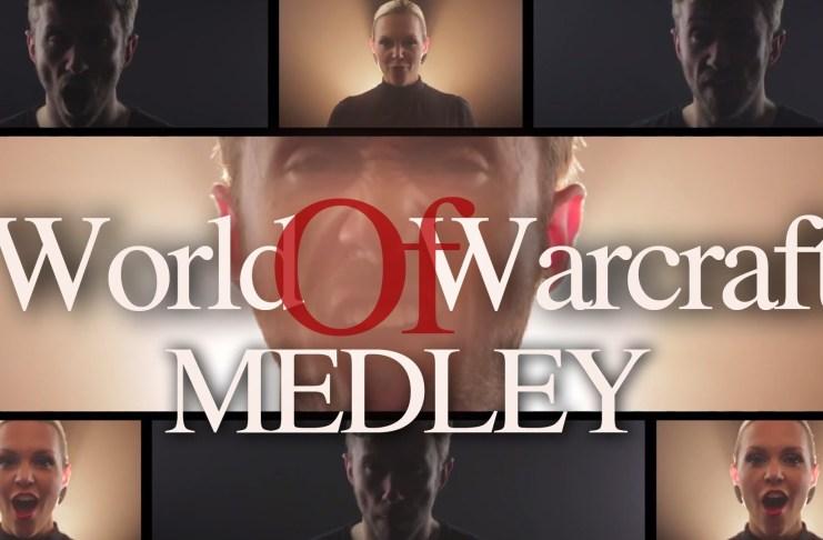 World of Warcraft Medley acapella por Peter Hollens presentando a Evynne Hollens
