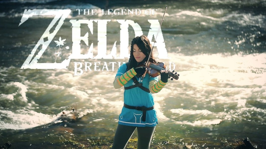 Zelda Breath Of The Wild Violin Cover por VioDance