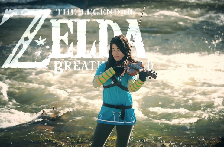 Zelda Breath Of The Wild Violin Cover por VioDance