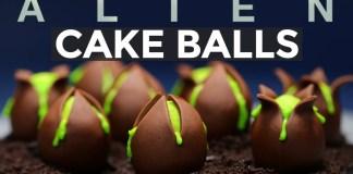 Alien Cake Balls