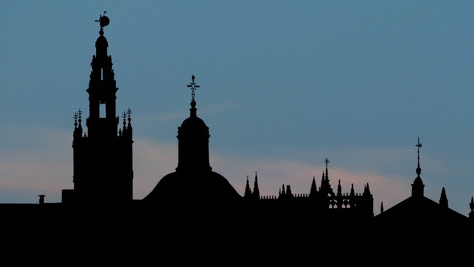 Horizonte de la ciudad de Sevilla (España)