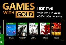 Games with Gold para Junio de 2017